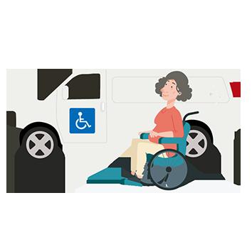 veículos adaptados para deficientes físicos